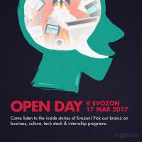 open day banner evozon career opportunity