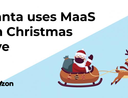 Santa uses MaaS on Christmas Eve